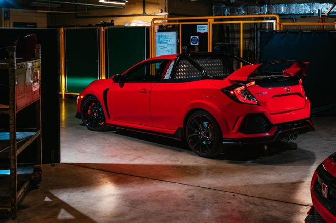 Honda Civic Type R co them ban ban tai cuc doc hinh anh 6