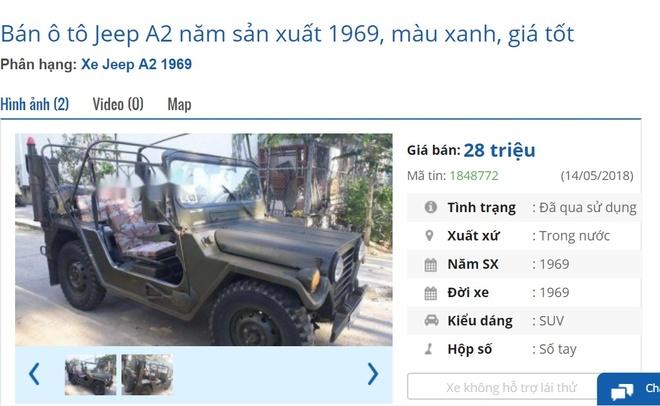 Nhung chiec xe co rao ban gia re hon xe may o Viet Nam hinh anh 2