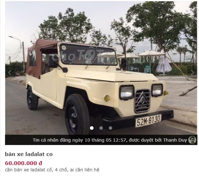 Nhung chiec xe co rao ban gia re hon xe may o Viet Nam hinh anh 4