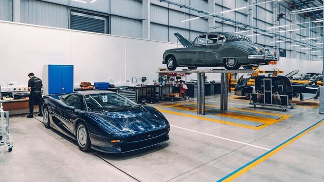 Mot vong trung tam xe co lon nhat cua Jaguar Land Rover hinh anh 9