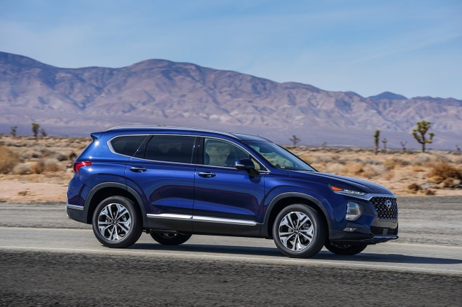 Hyundai Santa Fe 2019 chinh thuc di vao san xuat hinh anh