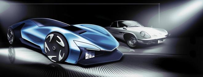 Ban mau xe the thao Mazda Cosmo hoi sinh vao nam 2027 hinh anh 2