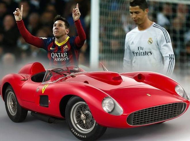 Khong phai Ronaldo, Messi moi la nguoi co xe dat nhat gioi cau thu hinh anh