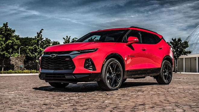 Chevrolet Blazer 2019 ra mat: Crossover the thao, them nhieu cong nghe hinh anh