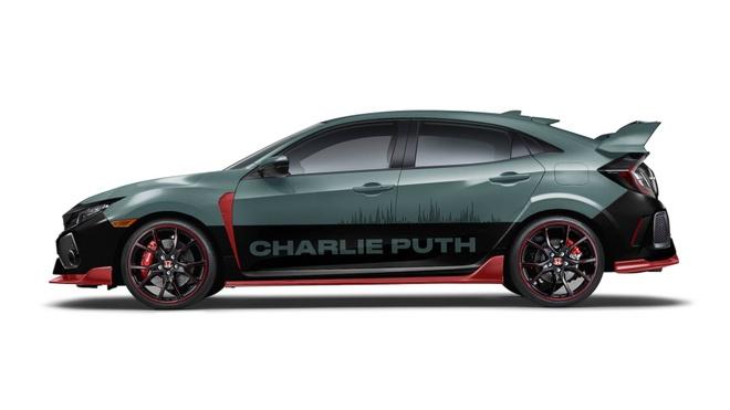 Charlie Puth tu thiet ke Honda Civic va Rebel 300 anh 2
