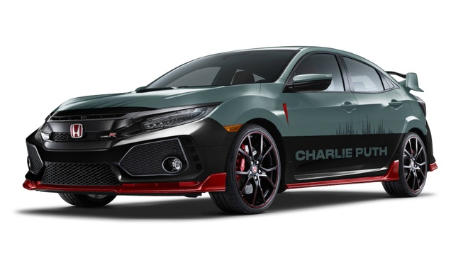 Honda Civic Type R va Rebel 300 do ca si Charlie Puth thiet ke hinh anh