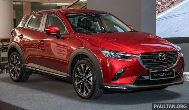 Mazda CX-3 2018 ban nang cap ra mat tai Malaysia gia tu 689 trieu hinh anh 1