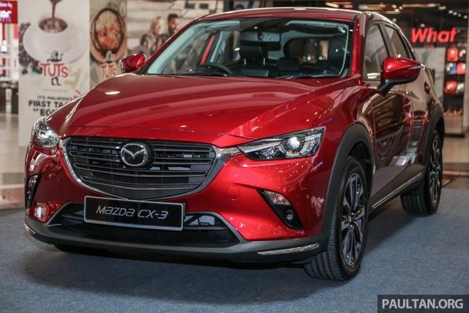 Mazda CX-3 2018 ban nang cap ra mat tai Malaysia gia tu 689 trieu hinh anh 2