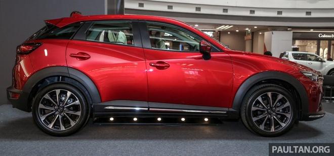 Mazda CX-3 2018 ban nang cap ra mat tai Malaysia gia tu 689 trieu hinh anh 9