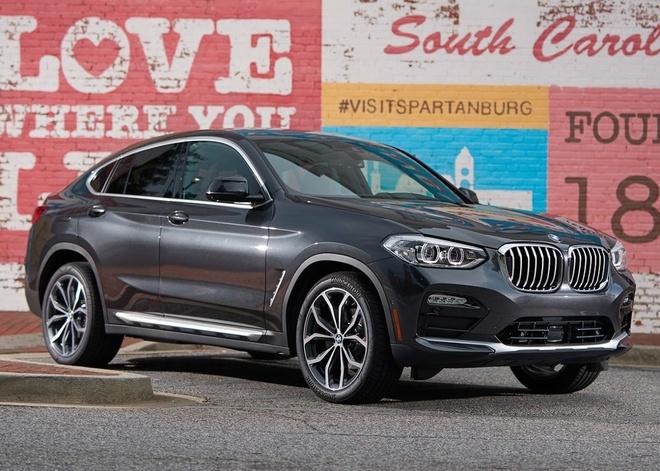 BMW X4 2019 gia tu 51.000 USD, doi dau Mercedes GLC coupe hinh anh 1