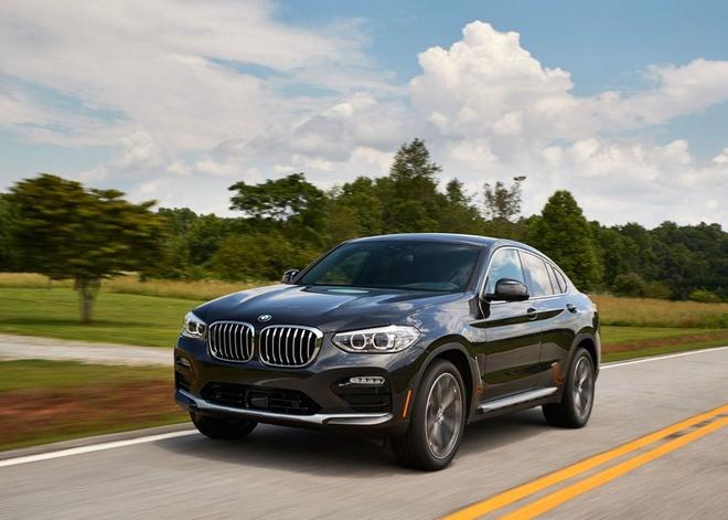 BMW X4 2019 gia tu 51.000 USD, doi dau Mercedes GLC coupe hinh anh 2