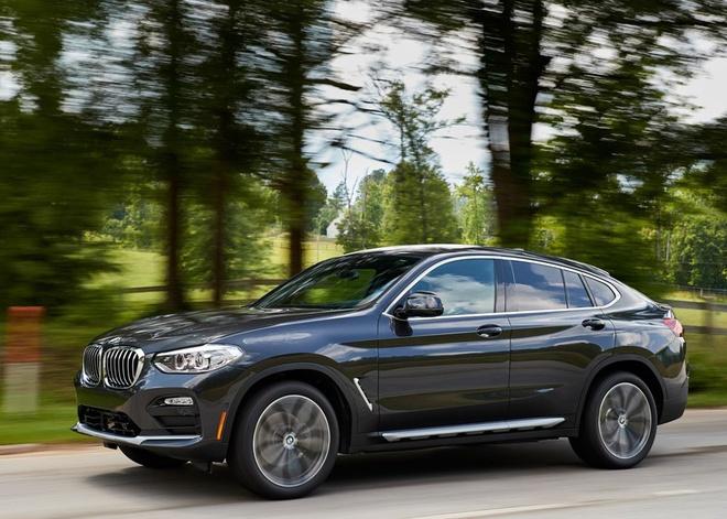 BMW X4 2019 gia tu 51.000 USD, doi dau Mercedes GLC coupe hinh anh 11