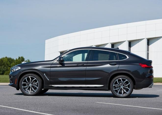 BMW X4 2019 gia tu 51.000 USD, doi dau Mercedes GLC coupe hinh anh 4