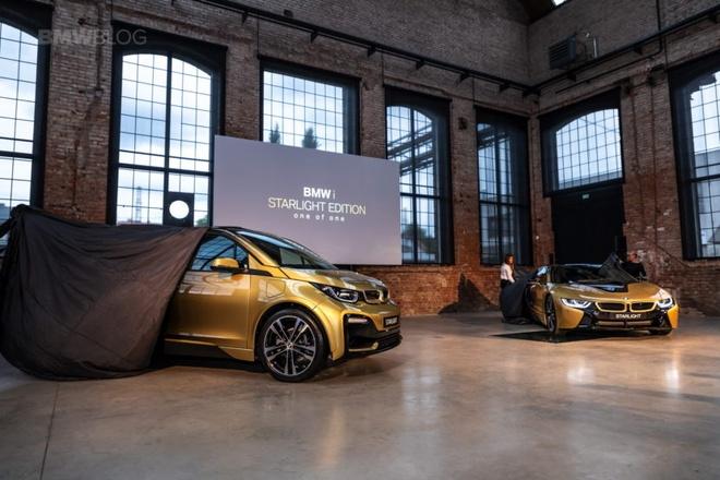 BMW i3 va i8 ma vang 24K doc nhat the gioi hinh anh 1