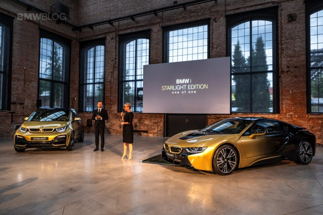 BMW i3 va i8 ma vang 24K doc nhat the gioi hinh anh