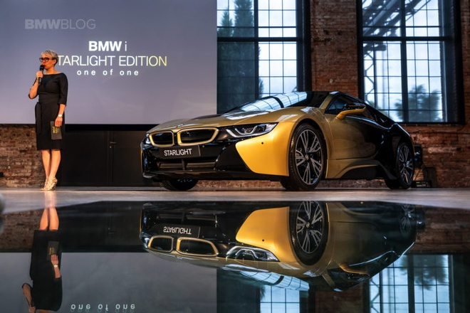 BMW i3 va i8 ma vang 24K doc nhat the gioi hinh anh 5