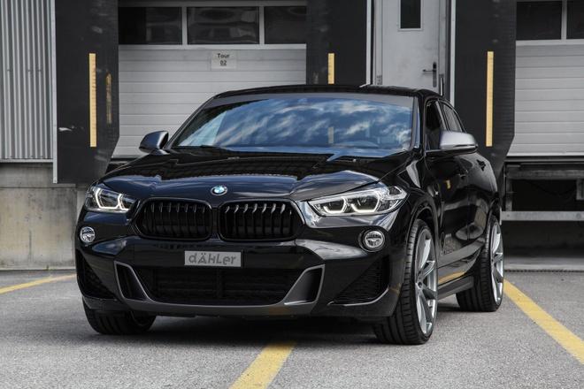 BMW X2 lot xac voi banh lon cua xuong do Dahler hinh anh 1