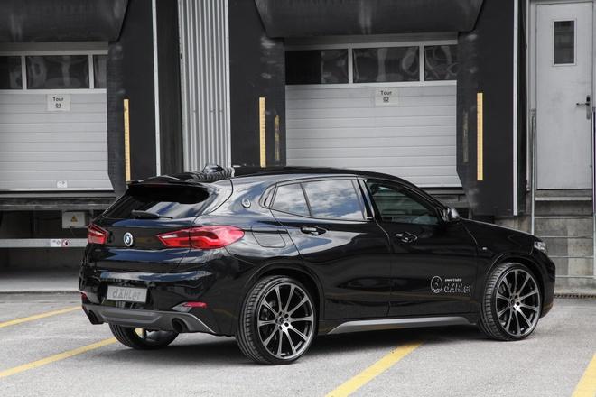 BMW X2 lot xac voi banh lon cua xuong do Dahler hinh anh 3