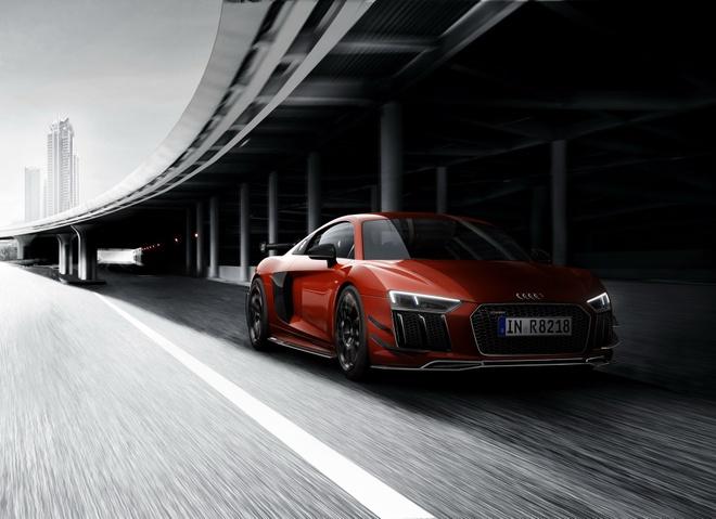 Audi R8 V10 Plus phien ban sieu gioi han lo dien hinh anh 2
