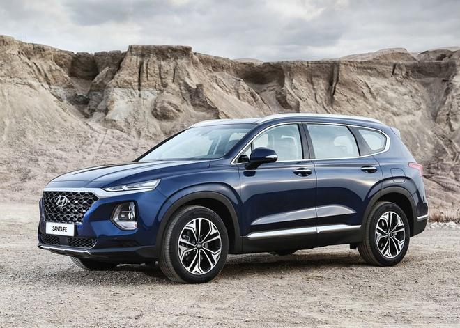 Chi tiet Hyundai Santa Fe 2019 - hien dai va an toan hon hinh anh
