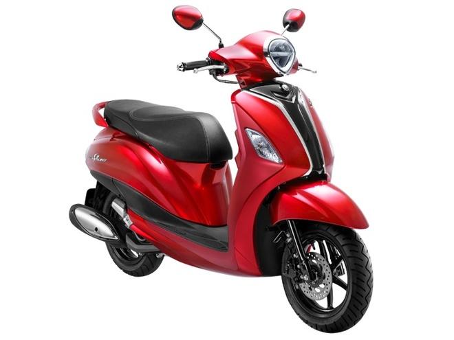 Yamaha Grande phien ban hybrid tai Thai Lan, gia 39,5 trieu dong hinh anh