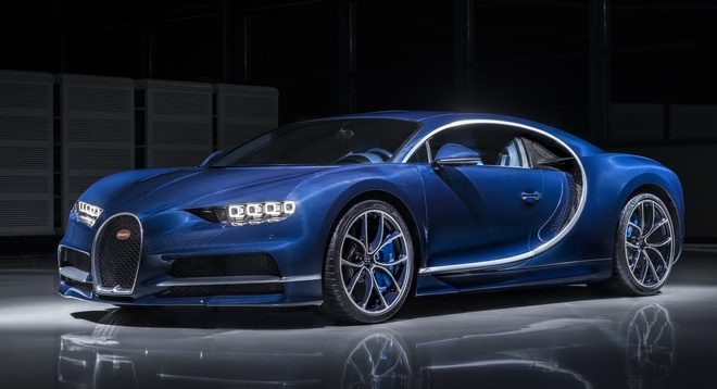 Bugatti Chiron cung bi yeu cau trieu hoi vi loi tui khi hinh anh