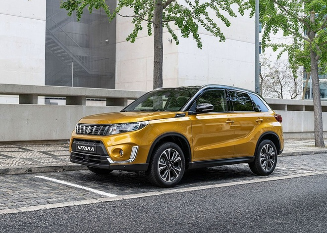 Suzuki Vitara 2019 duoc nang cap manh me anh 1