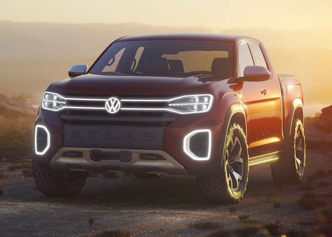 Xe ban tai Volkswagen doi thu cua Ford Ranger co the di vao san xuat hinh anh 3