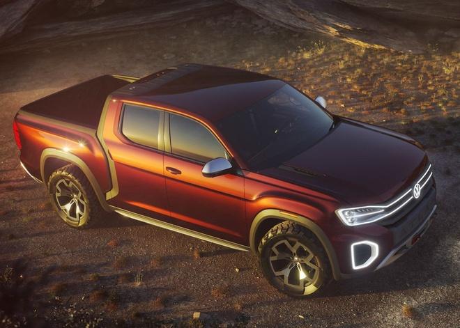 Xe ban tai Volkswagen doi thu cua Ford Ranger co the di vao san xuat hinh anh 5
