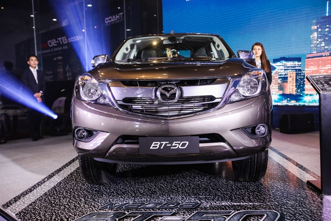 Mazda BT-50 huong thue nhap khau 0% ve VN voi nhieu nang cap moi hinh anh 2