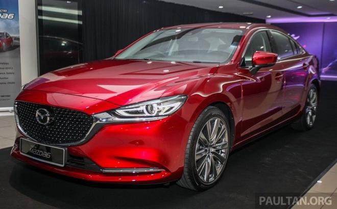 Mazda6 2018 xuat hien tai Malaysia - doi thu cua Toyota Camry hinh anh