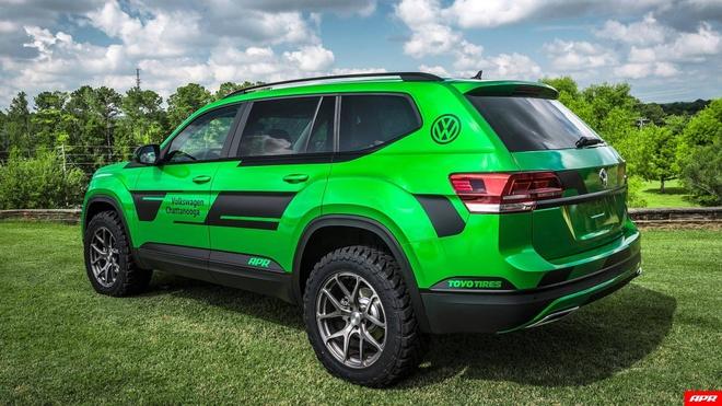 SUV Volkswagen Atlas do hieu suat manh 350 ma luc hinh anh 3
