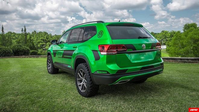 SUV Volkswagen Atlas do hieu suat manh 350 ma luc hinh anh 7