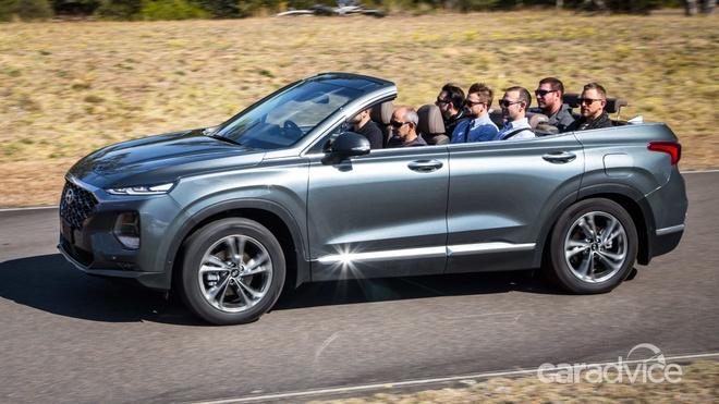 Hyundai He Lộ Mẫu Mui Trần 7 Chỗ Santa Fe Cabriolet 2019 Oto