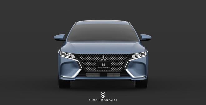 He lo sedan tam trung cua Mitsubishi ra mat nam 2020 hinh anh 1