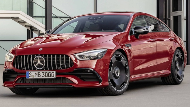 Mercedes-AMG GT 43 coupe 4 cua 2019 ra mat hinh anh