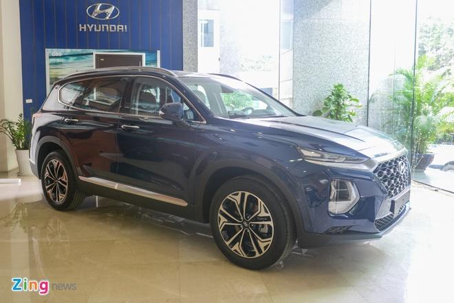 Hyundai SantaFe 2019 lo cau hinh truoc khi ra mat o Viet Nam hinh anh