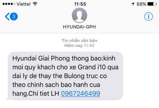 'Loi bu long cua Hyundai Grand i10 chi co tren xe lap rap' hinh anh 3