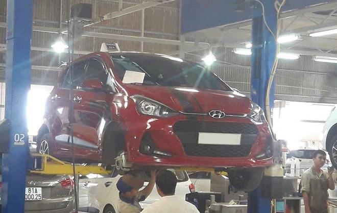 'Loi bu long cua Hyundai Grand i10 chi co tren xe lap rap' hinh anh 1