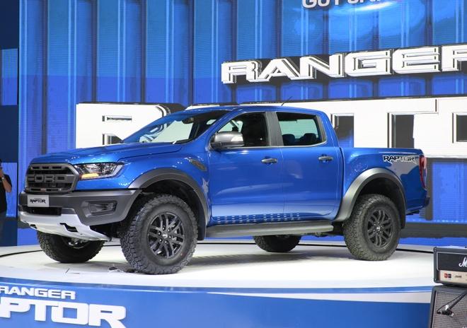 Ford Ranger Raptor ra mat tai VMS 2018, gia 1,2 ty dong hinh anh