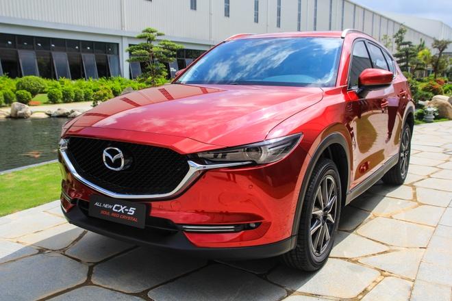 Mazda CX-5 them 3 mau moi o Viet Nam hinh anh 6