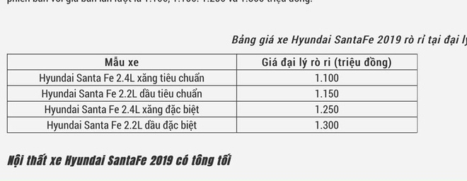 Hyundai SantaFe 2019 gia thap nhat 1,1 ty dong o Viet Nam hinh anh 1