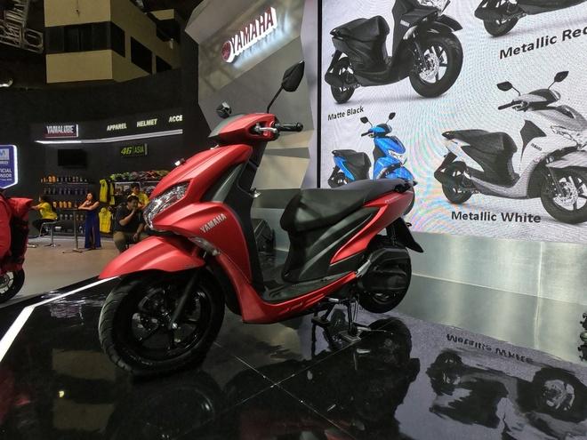 Xe tay ga Yamaha FreeGo 125 ra mat tai Indonesia hinh anh 4