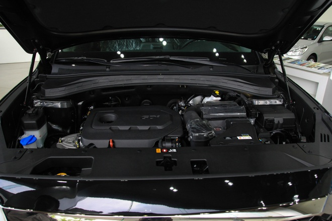 Hyundai SantaFe dau tien ve dai ly tai TP.HCM, cat nhieu trang bi hinh anh 8
