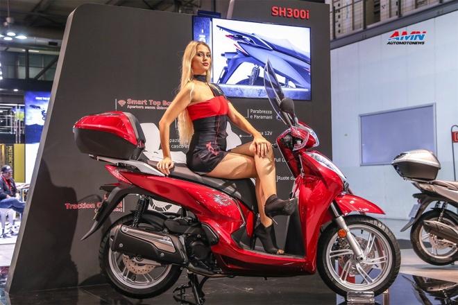 Honda SH 300i 2019 ra mat, bo sung cong nghe moi hinh anh