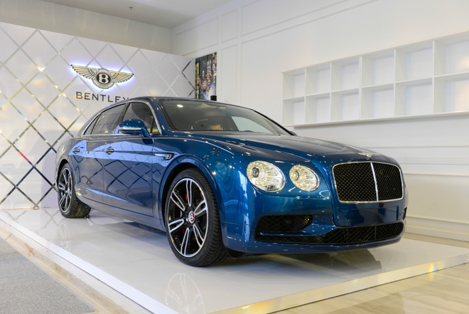 Chi tiet Bentley Flying Spur V8 S gia hon 16,8 ty dau tien tai VN hinh anh