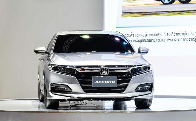 Honda Accord 2019 ra mat tai Thai Lan hinh anh