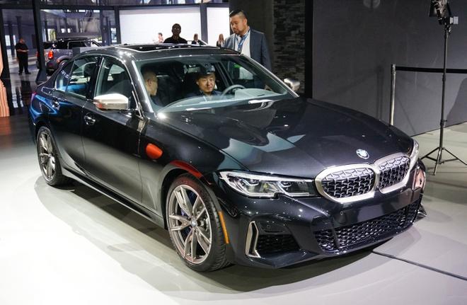 Bo doi BMW M340i 2020 ra mat, ban ra he nam sau hinh anh