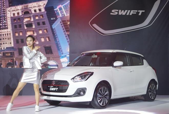 Suzuki Swift 2018 nhap khau Thai Lan ve VN, gia tu 499 trieu hinh anh
