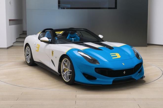 Sieu xe Ferrari SPCJ3 duy nhat tren the gioi lo dien hinh anh 1